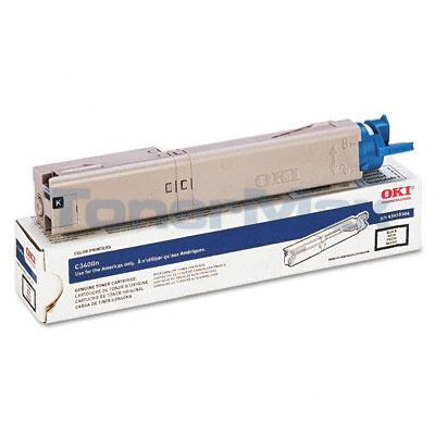 OKI C3400N SERIES TONER CARTRIDGE BLACK 1.5K